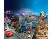 Foto zavjese Cars u gradu FCSXL-4326, 180 x 160 cm Foto zavjese