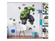 Samolepicí dekorace Walltastic Hulk 44289 Dětské samolepky na zeď