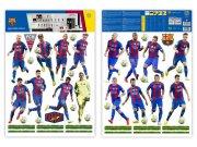 Dječje naljepnice FC Barcelona team BAR17 Naljepnice za dječju sobu