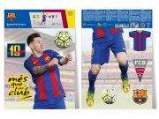 Dječje naljepnice FC Barcelona Messi BAR30 Naljepnice za dječju sobu
