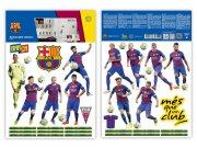 Dječje naljepnice FC Barcelona team BAR35 Naljepnice za dječju sobu