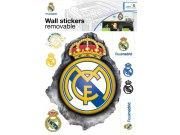 Dječje naljepnice Real Madrid znak RM32 Naljepnice za dječju sobu