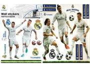 Dječje naljepnice Real Madrid - Ronaldo - Piqué RM16 Naljepnice za dječju sobu