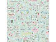 Dječja papirnata tapeta za zid Kids & Teens 216714 Rasch