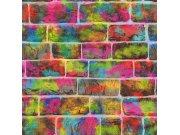 Dječja papirnata tapeta za zid graffiti 291407 Rasch