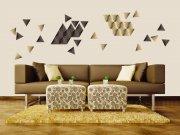 Samoljepljiva dekoracija za zid Trokvti ST1-023 Naljepnice za zid