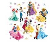 Dječje naljepnice Ples princeza DKS-1081, 30x30 cm Naljepnice za dječju sobu