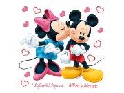 Dječje naljepnice Minnie i Mickey DKS-1085, 30x30 cm Naljepnice za dječju sobu