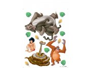 Dječje naljepnice Knjiga iz džungle DKS-1093, 30x30 cm Naljepnice za dječju sobu