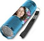 Dijete alvminij LED bljeskalicv soja Lvna cijan LED Svjetiljka Igračke i oprema - svjetiljke i svjetiljke