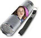Dijete alvminij LED bljeskalicv soja Lvna srebro Igračke i oprema - svjetiljke i svjetiljke
