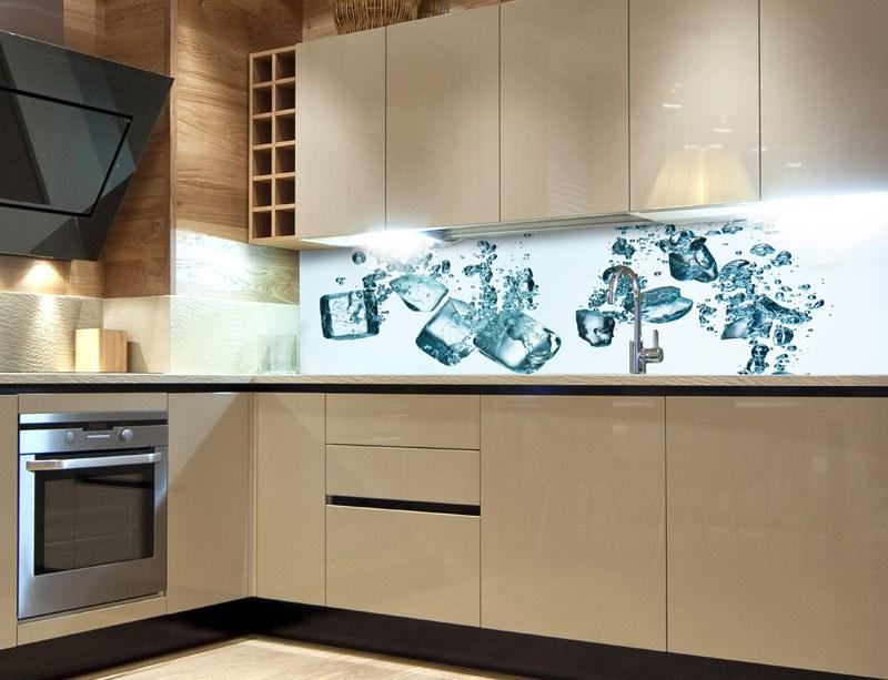 Samoljepljiva foto tapeta za kuhinje Ice Cubes KI-180-002, 180x60 cm - Foto tapete