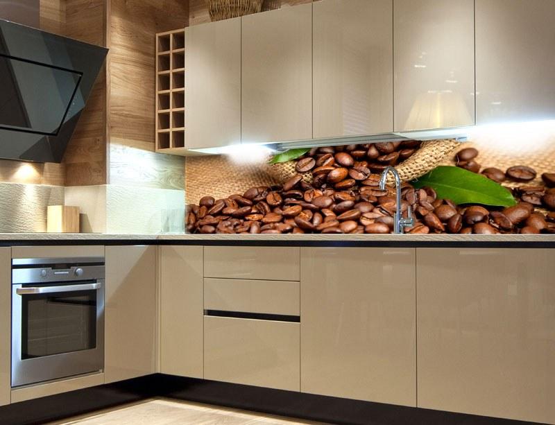 Samoljepljiva foto tapeta za kuhinje Coffee KI-180-006, 180x60 cm - Foto tapete