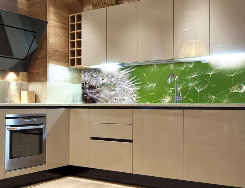 Samoljepljiva foto tapeta za kuhinje Dandelion KI-180-012, 180x60 cm - Foto tapete