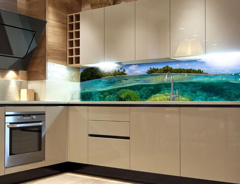 Samoljepljiva foto tapeta za kuhinje Koraljni greben KI-260-013, 260x60 cm - Foto tapete