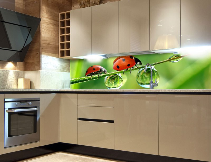 Samoljepljiva foto tapeta za kuhinje Bvbamara KI-260-015, 260x60 cm - Foto tapete