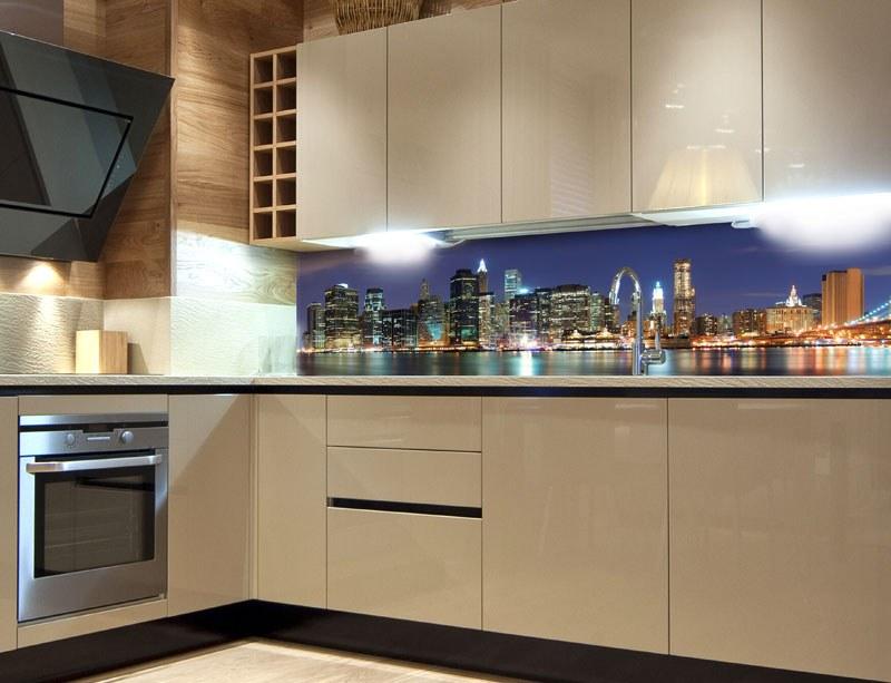 Samoljepljiva foto tapeta za kuhinje Manhattan KI-180-017, 180x60 cm - Foto tapete