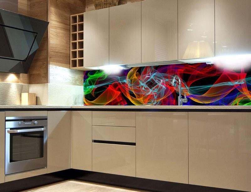 Samoljepljiva foto tapeta za kuhinje Elegance Lines KI-180-018, 180x60 cm - Foto tapete