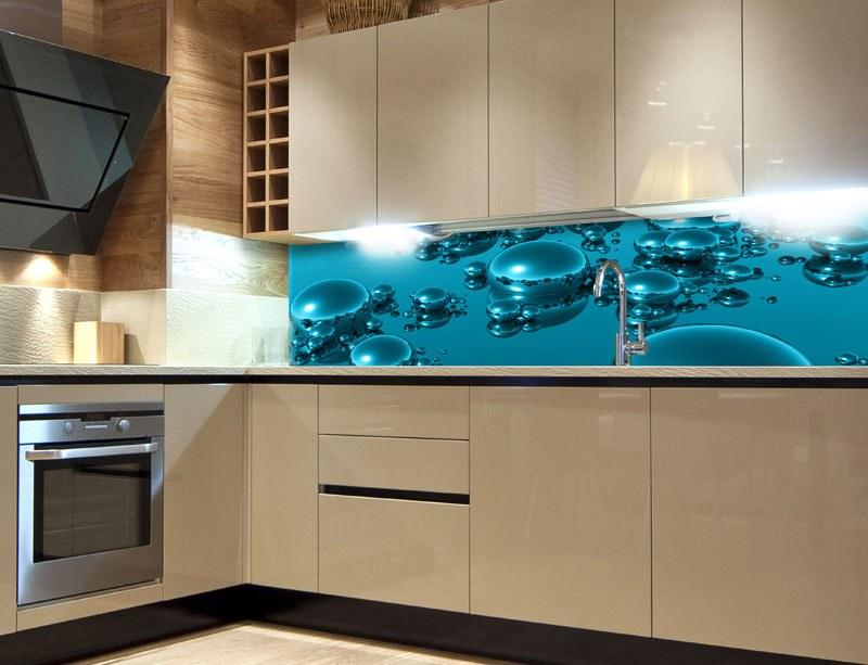 Samoljepljiva foto tapeta za kuhinje Kapi vode KI-260-019, 260x60 cm - Foto tapete
