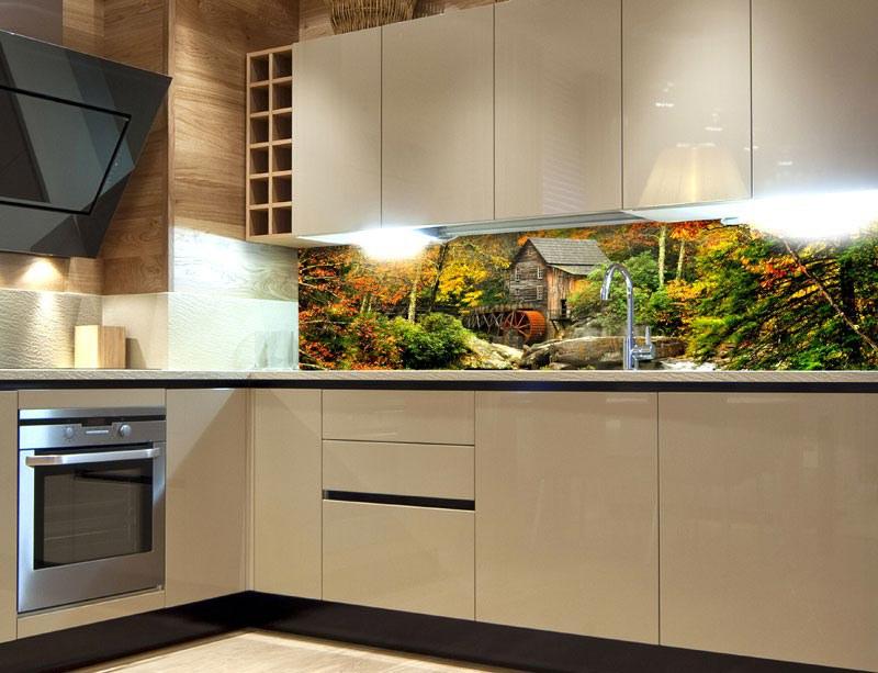 Samoljepljiva foto tapeta za kuhinje Grist Mill KI-180-042, 180x60 cm - Foto tapete