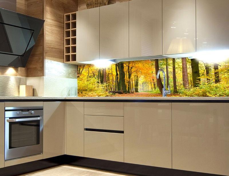 Samoljepljiva foto tapeta za kuhinje Avtumn Forest KI-180-045, 180x60 cm - Foto tapete