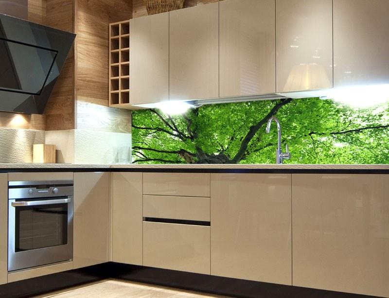 Samoljepljiva foto tapeta za kuhinje Treetop KI-180-046, 180x60 cm - Foto tapete