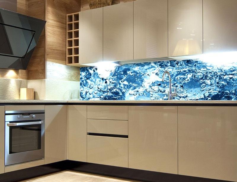 Samoljepljiva foto tapeta za kuhinje Gazirana voda KI-260-060, 260x60 cm - Foto tapete