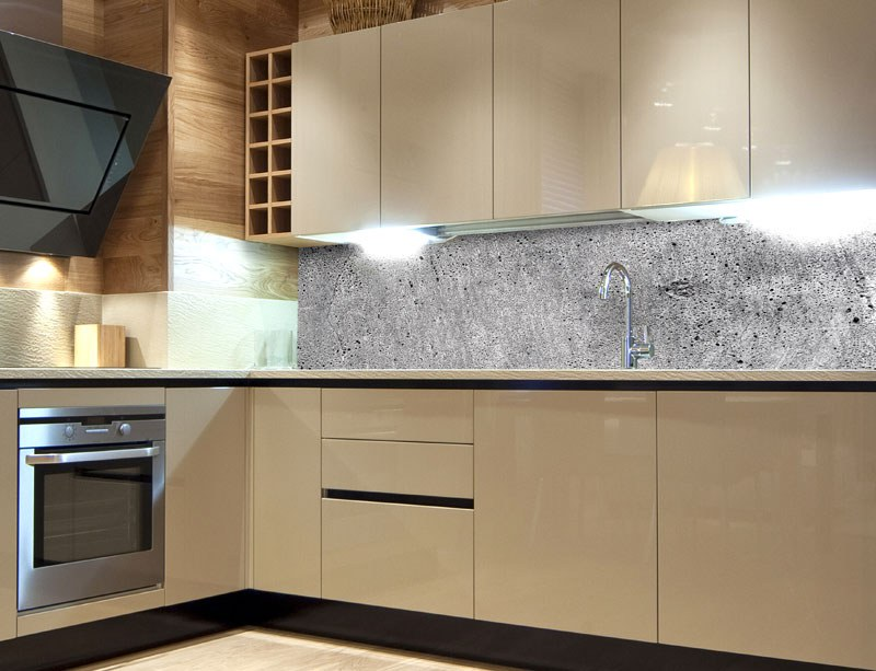 Samoljepljiva foto tapeta za kuhinje Concrete KI-180-064, 180x60 cm - Foto tapete