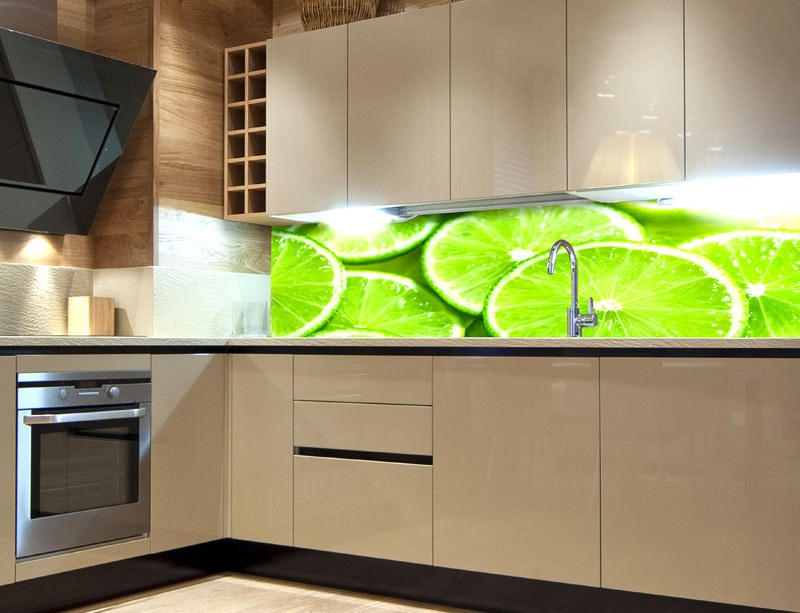 Samoljepljiva foto tapeta za kuhinje Lime KI-180-074, 180x60 cm - Foto tapete