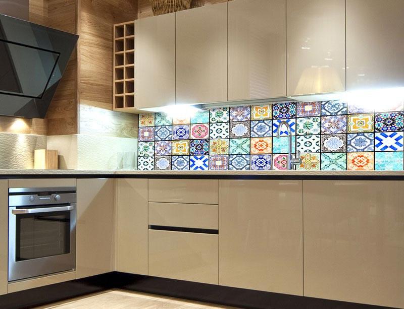Samoljepljiva foto tapeta za kuhinje Vintage Tiles KI-180-079, 180x60 cm - Foto tapete
