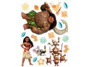 Dječje naljepnice Vaiana DK-2302, 85x65 cm Naljepnice za dječju sobu