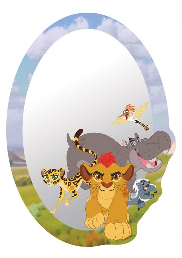 Dječje naljepnice ogledalo Kralj lavova DM-2120, 15x22 cm - Naljepnice za dječju sobu