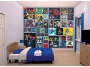 3D foto tapeta Walltastic Transformers Robots 43831 | 305x244 cm Foto tapete