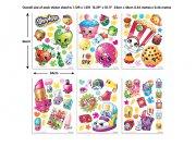 Dječja naljepnica Shopkins 44227 Naljepnice za dječju sobu