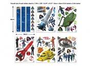 Dječja naljepnica Thunderbirds 43749 Naljepnice za dječju sobu