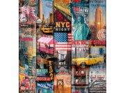 Samoljepljiva folija Manhattan 200-3234 d-c-fix, širina 45 cm Dekor