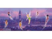 Flis foto tapeta AG Fairies v Londonv FTDNH-5306 | 202x90 cm Foto tapete