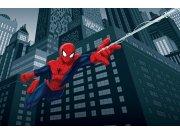 Foto tapeta Spiderman Jump | 360x254 cm Foto tapete