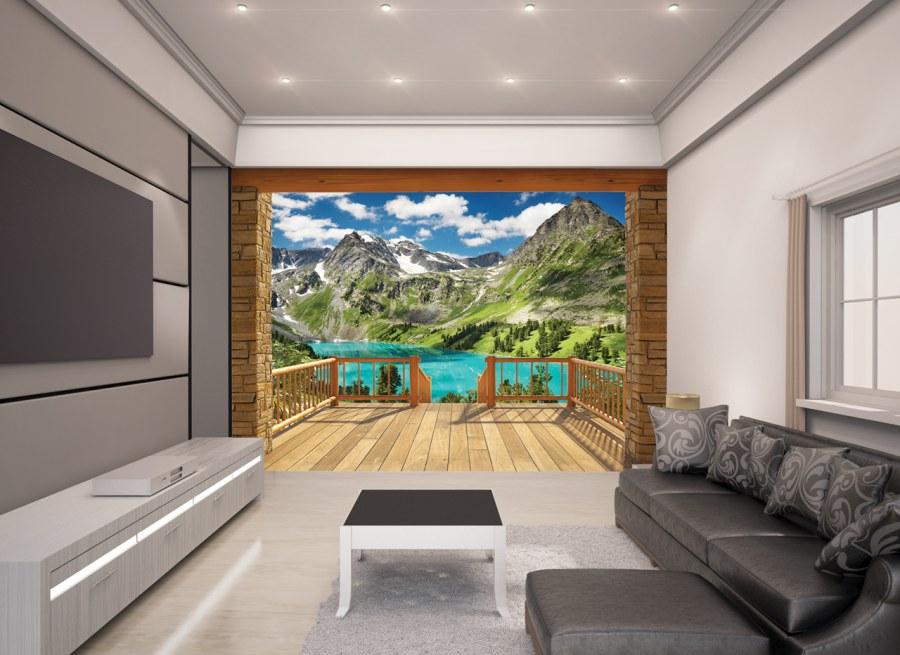 3D foto tapeta Walltastic Alpe 43619 | 305x244 cm - Foto tapete
