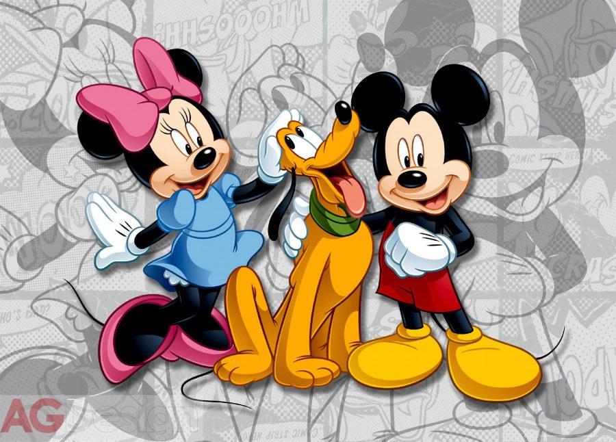 Flis foto tapeta AG Mickey i Minnie FTDNM-5204 | 160x110 cm - Foto tapete