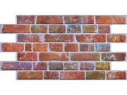 3D zidni PVC panel imitacija zida od crvene cigle 3D zidne PVC paneli