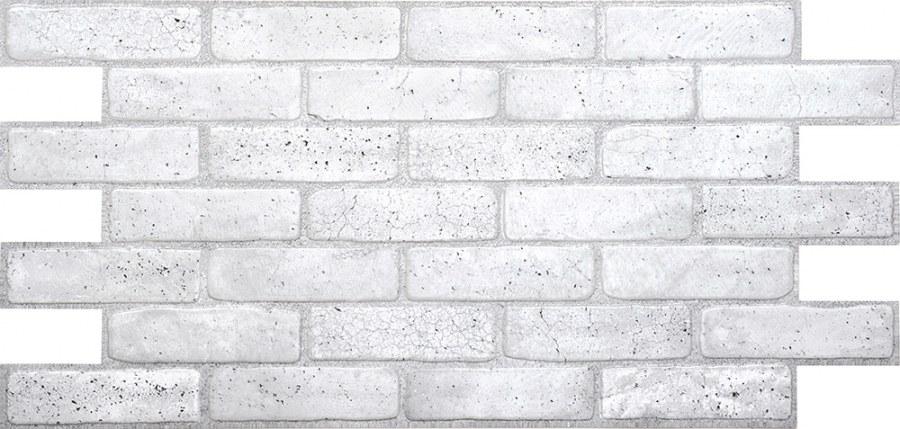 3D zidni PVC panel imitacija zida od sive cigle - 3D zidni paneli