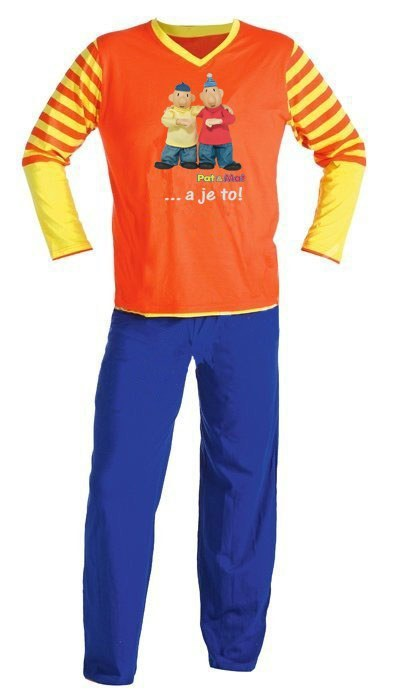 Dječja pidžama duga Pat i Mat, veličina 122 - Dječje pidžame Pat i Mat