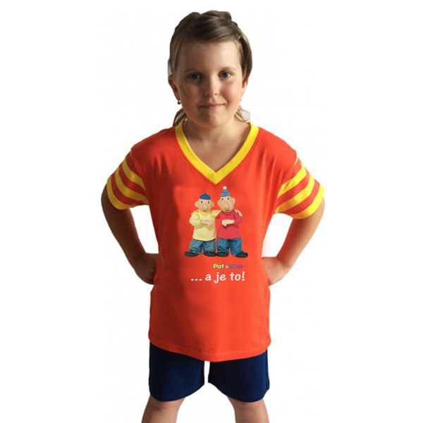 Dječja pidžama kratka Pat i Mat, veličina 110 - Dječje pidžame Pat i Mat
