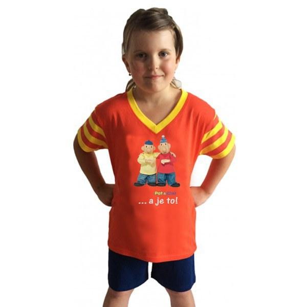 Dječja pidžama kratka Pat i Mat, veličina 122 - Dječje pidžame Pat i Mat