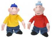 Plišane figure sa zvukom Pat i Mat 18 cm Plišane figure Pat i Mat