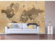Foto tapeta Stara karta svijeta FTNXXL-1215 Foto tapete