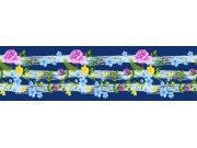 Samoljepljiva bordura Cvijeće WB8237 Samoljepljive bordure