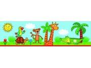 Samoljepljiva bordura Žirafa WBD8102 Naljepnice za dječju sobu
