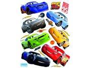 Samoljepljiva dekoracija Cars auta DK-2310, 85x65 cm Naljepnice za dječju sobu